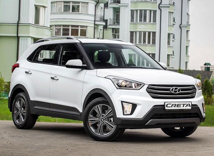 Car rent Hyundai Creta in Odessa