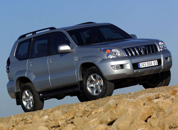 Car rent Toyota Land Cruiser Prado in Odessa